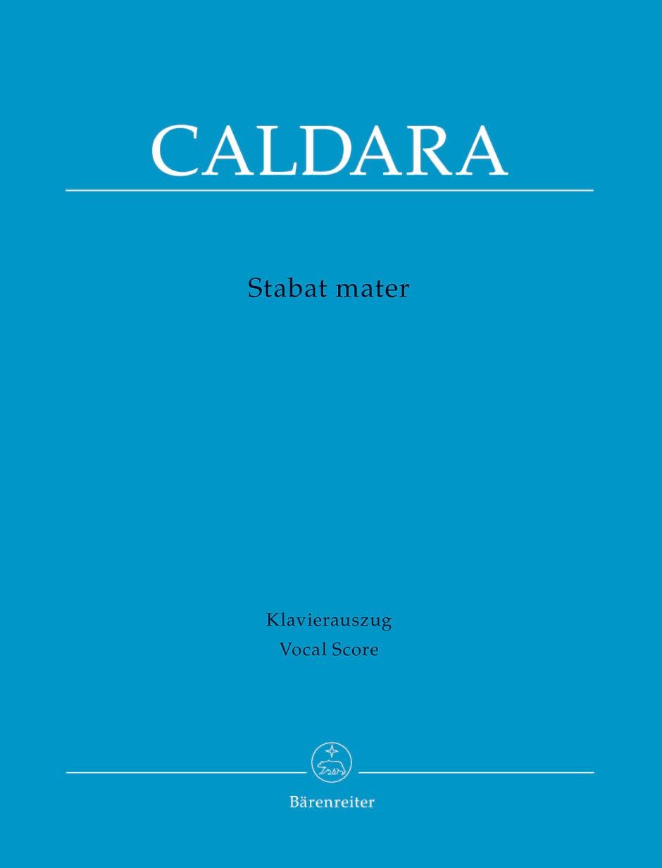 Stabat Mater - Antonio Caldara - Partition - Chœur - laflutedepan.com