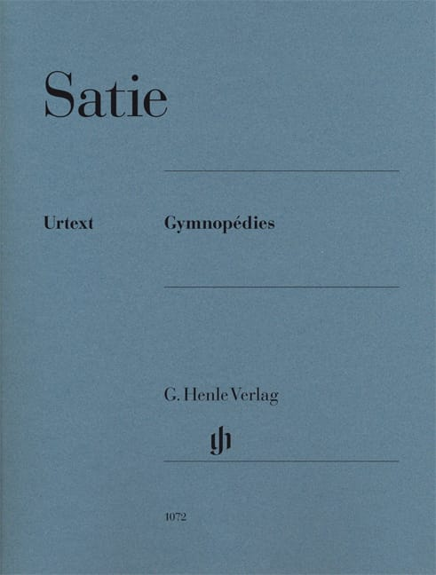Erik Satie - 3 Gymnopedies - Partition - di-arezzo.co.uk