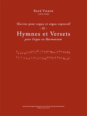 Oeuvres pour orgue. Volume 2 - René Vierne - laflutedepan.com