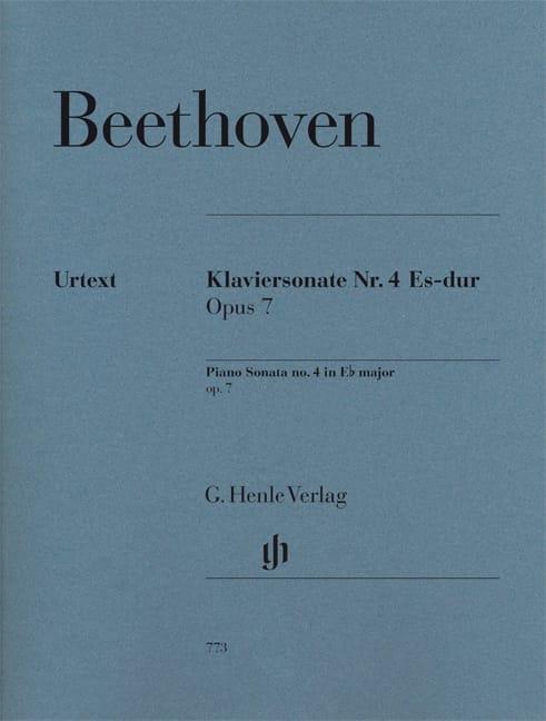 Sonate pour piano n° 4 Mi Bémol Majeur Opus 7 - laflutedepan.com