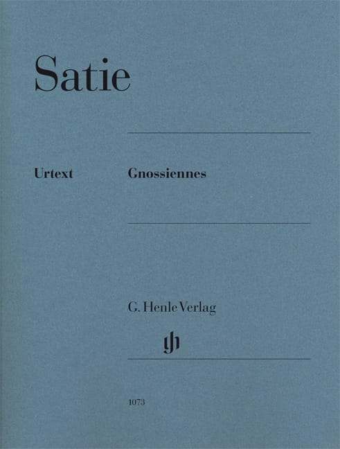 Erik Satie - Gnossiennes - Partition - di-arezzo.co.uk