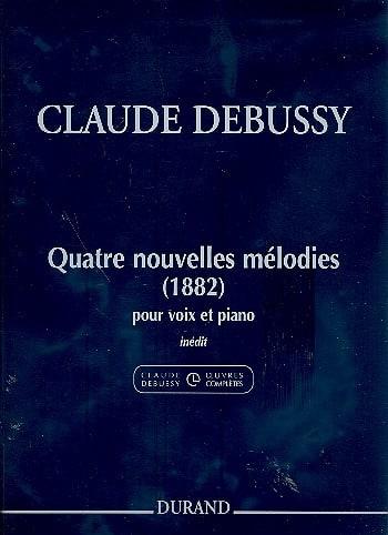 DEBUSSY - 4 nuevas melodías 1882 - Partition - di-arezzo.es