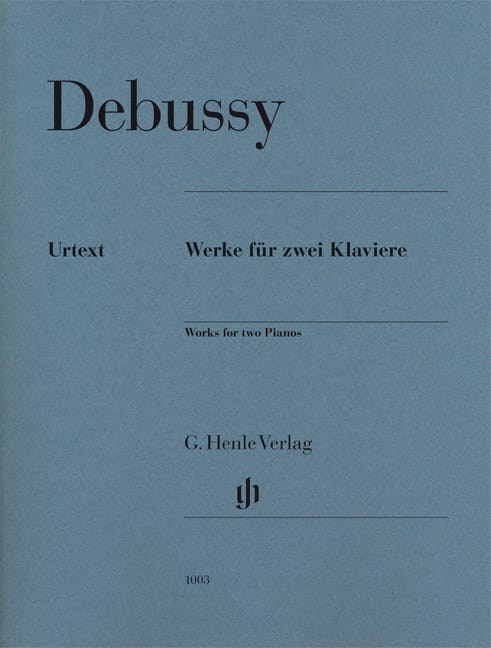 DEBUSSY - Works for Two Pianos - Partition - di-arezzo.co.uk