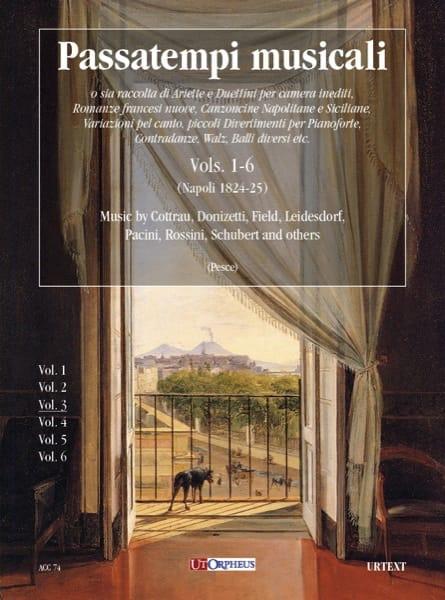 Passatempi Musicali Volume 3 - Partition - laflutedepan.com