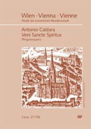 Veni Sancte Spiritus - CALDARA - Partition - Chœur - laflutedepan.com