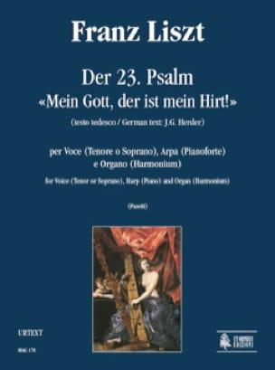 Der 23. Psalm Mein Gott, Der Est Mein Hirt - LISZT - laflutedepan.com