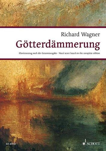 Götterdammerung Wwv 86d - WAGNER - Partition - laflutedepan.com