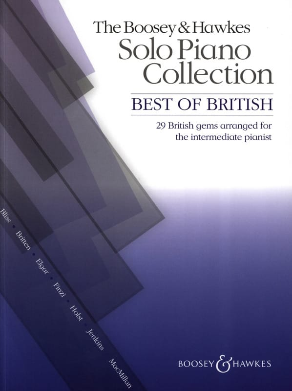 Best of British - Partition - Piano - laflutedepan.com