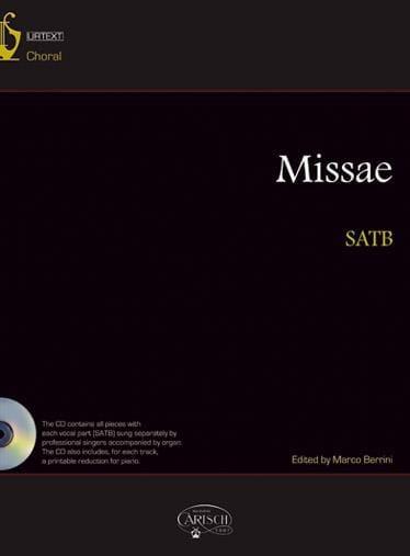 Missae - Partition - Chœur - laflutedepan.com