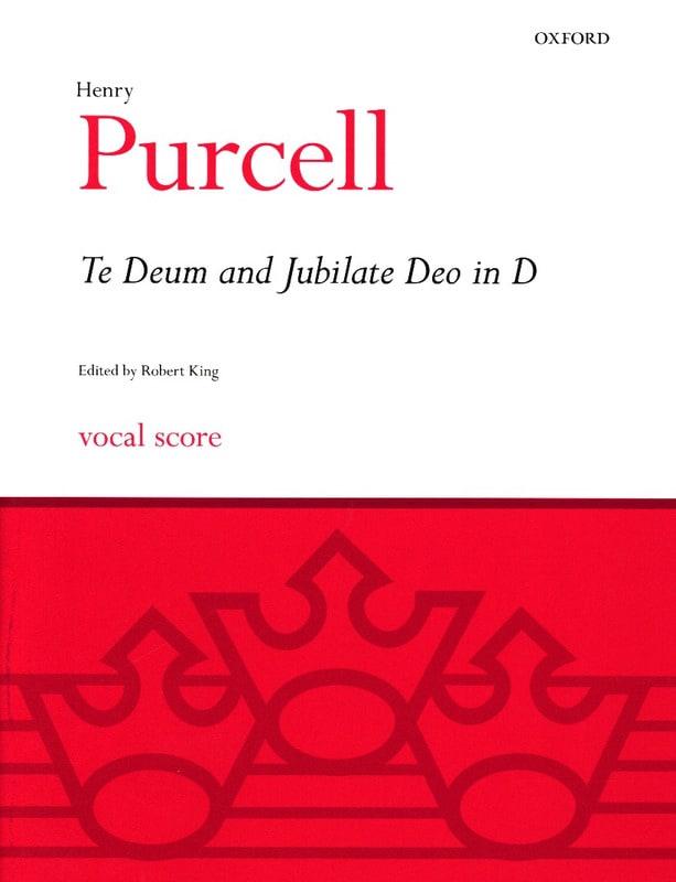 Te Deum et Jubilate Deo En Ré - PURCELL - Partition - laflutedepan.com