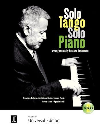 Solo Tango, Solo Piano. Volume 2 - Partition - laflutedepan.com
