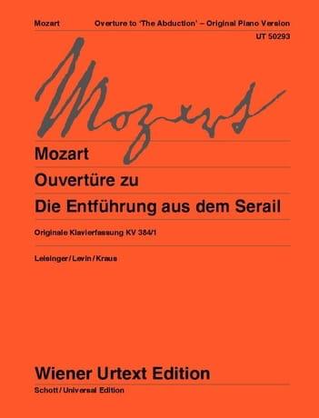 Ouverture de L'enlèvement Au Sérail - MOZART - laflutedepan.com