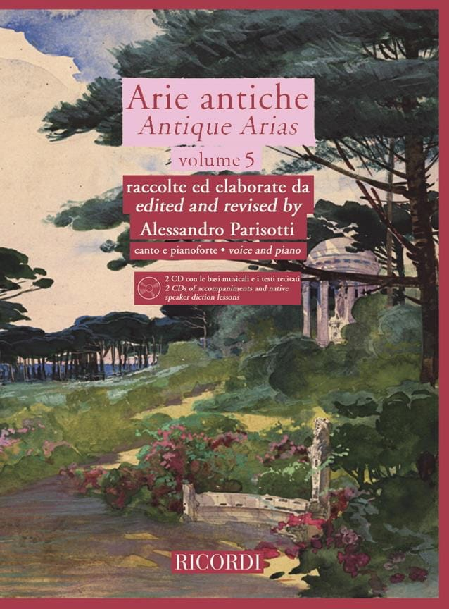 Alessandro Parisotti - Arie Antiche Volume 5 2 CD - Partition - di-arezzo.co.uk