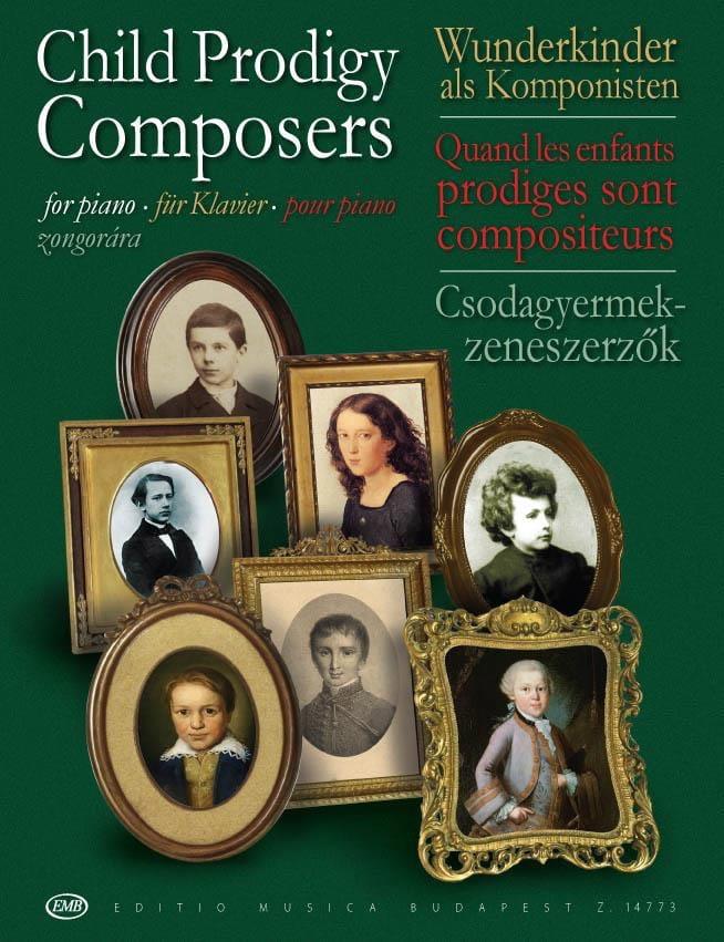 Child Prodigy Composers. Piano - Partition - laflutedepan.com