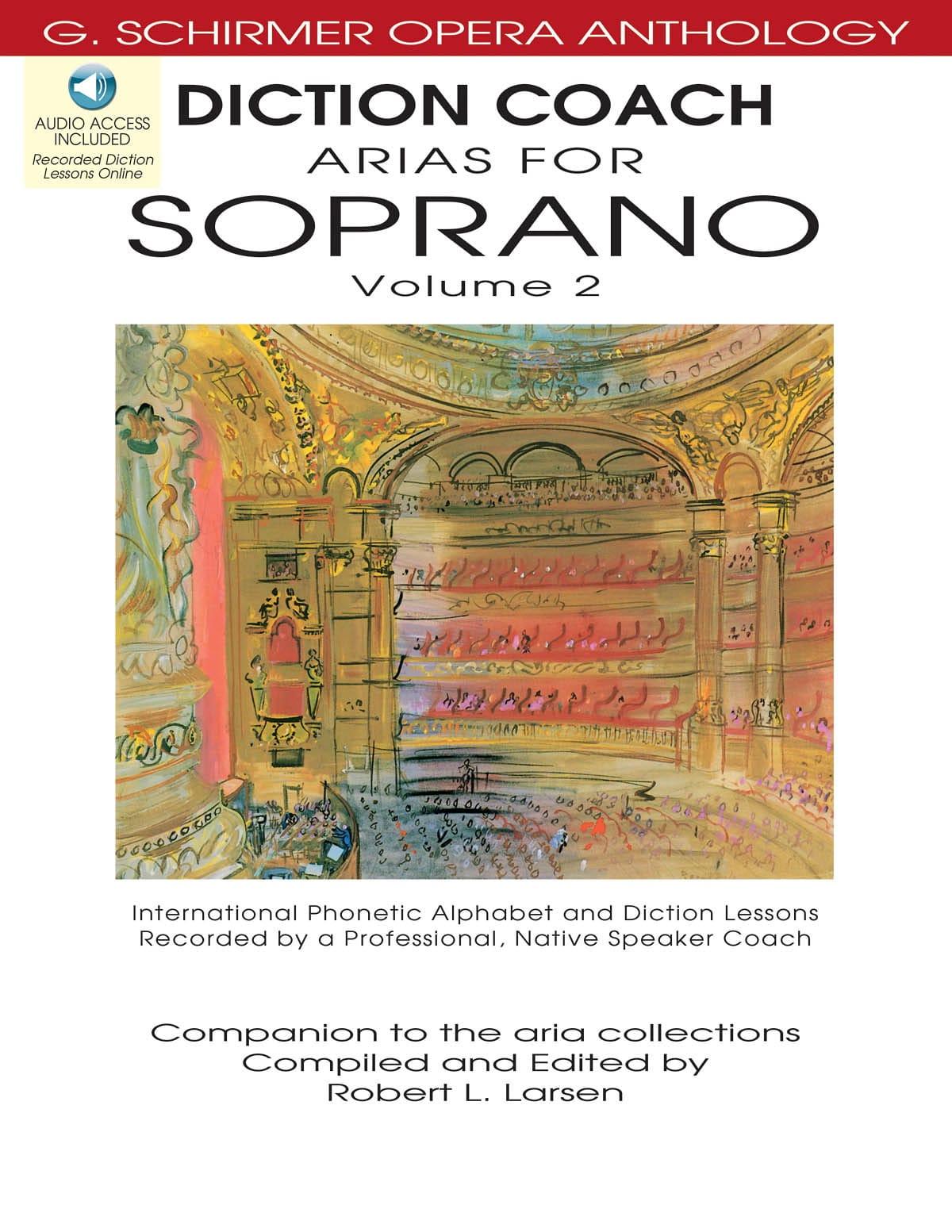 Diction Coach Arias For Soprano Volume 2 + CD - laflutedepan.com