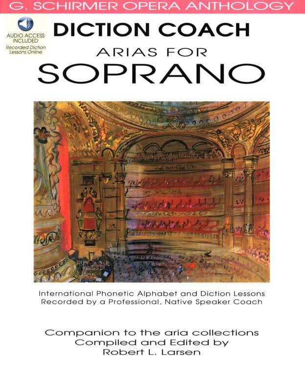 Diction Coach Arias For Soprano. Volume 1 - laflutedepan.com