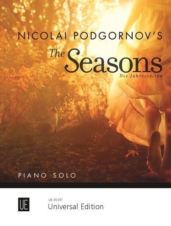 Les Saisons - Nicolai Podgornov - Partition - Piano - laflutedepan.com