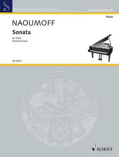 Sonata - Emile Naoumoff - Partition - Piano - laflutedepan.com