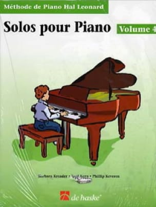 Kreader / Kern Jerome / Keveren - Piano Solos - Volume 4 with CD - Partition - di-arezzo.com