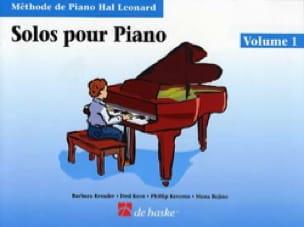 Solos Pour Piano Volume 1 - laflutedepan.com