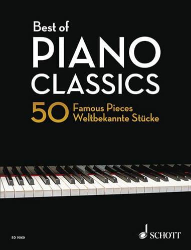 - Best Of Piano Classics - Partition - di-arezzo.com