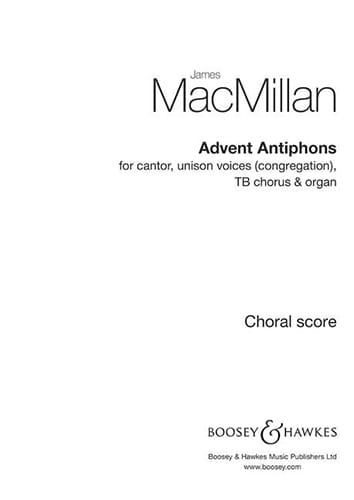 Advent Antiphons - James Macmillan - Partition - laflutedepan.com