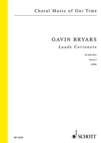 Laude Cortonese - Gavin Bryars - Partition - Chœur - laflutedepan.com