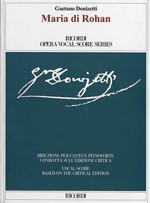 Maria Di Rohan - DONIZETTI - Partition - Opéras - laflutedepan.com