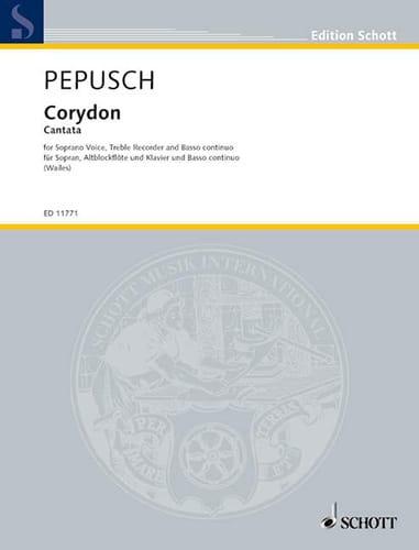 Corydon - Johann Christoph Pepusch - Partition - laflutedepan.com