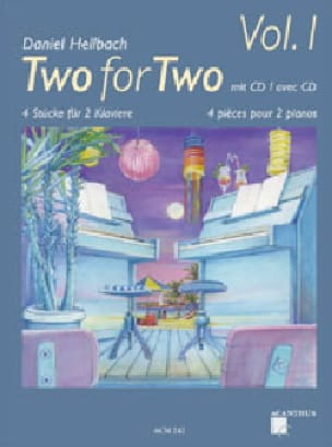 Two For Two Volume 1 - Daniel Hellbach - Partition - laflutedepan.com