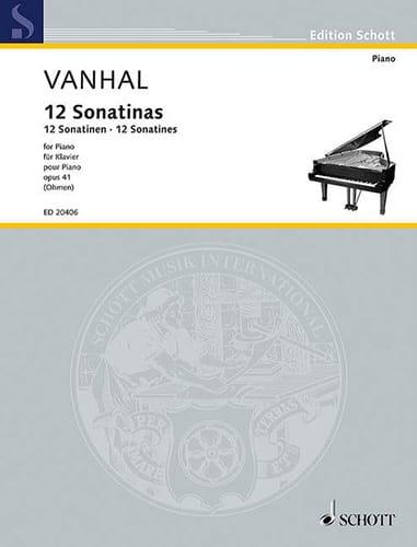12 sonatines faciles et progressives Opus 41 - laflutedepan.com