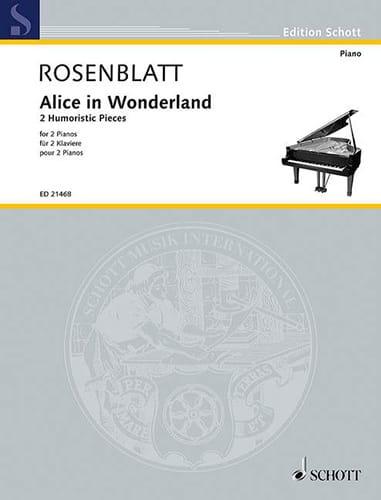 Alice in Wonderland - Alexander Rosenblatt - laflutedepan.com