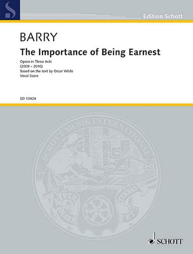 The Importance of Being Earnest - Gerald Barry - laflutedepan.com