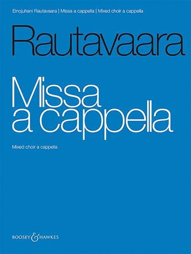 Einojuhani Rautavaara - Missa A Cappella - Partition - di-arezzo.co.uk