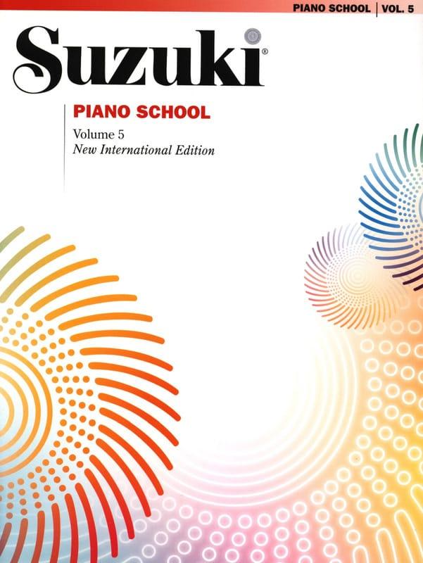 Suzuki Piano School New International Edition Volume 5 - laflutedepan.com