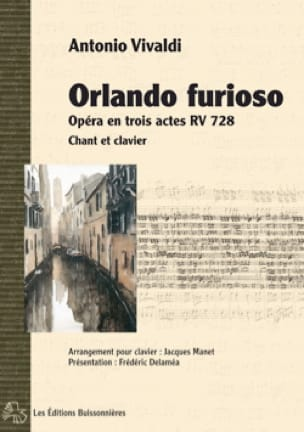 VIVALDI - Orlando Furioso RV 728 - Partition - di-arezzo.co.uk