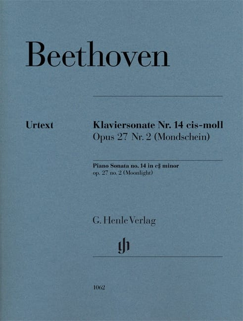 BEETHOVEN - Moonlight Sonata - Partition - di-arezzo.co.uk