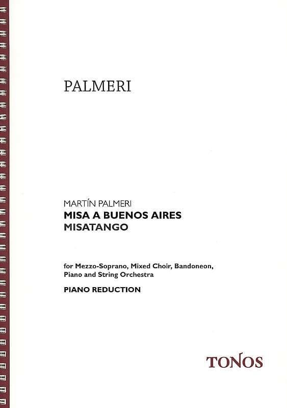 Martin Palmeri - Misa a Buenos Aires - Partition - di-arezzo.fr