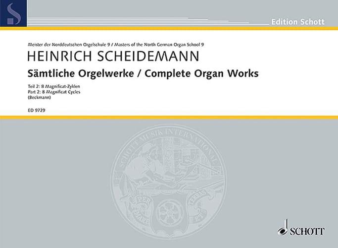 Heinrich Scheidemann - Sämtliche Orgelwerke Volume 2 - Partition - di-arezzo.fr