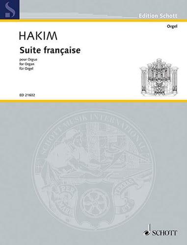 Suite francaise - Naji Hakim - Partition - Orgue - laflutedepan.com