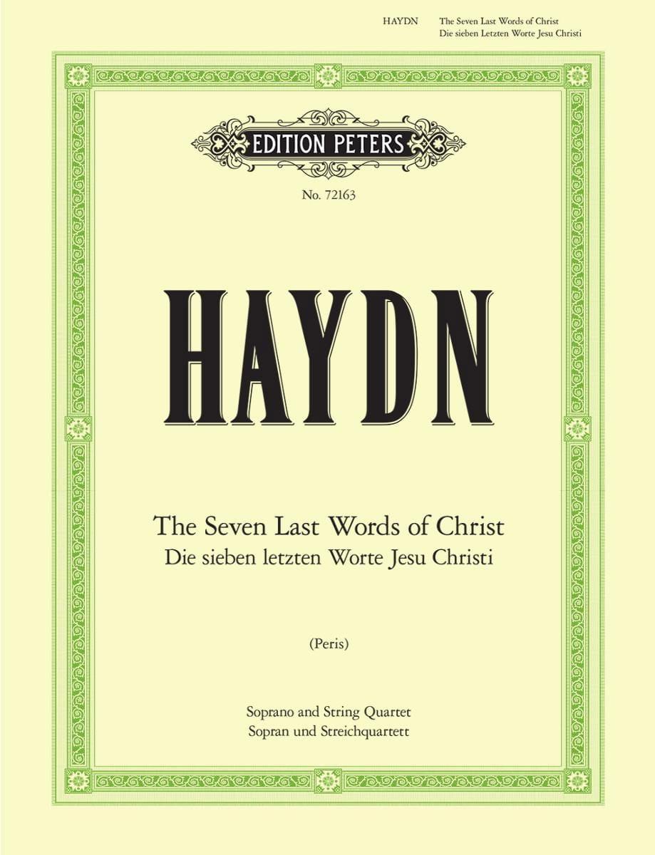 Les sept dernières paroles du Christ - HAYDN - laflutedepan.com