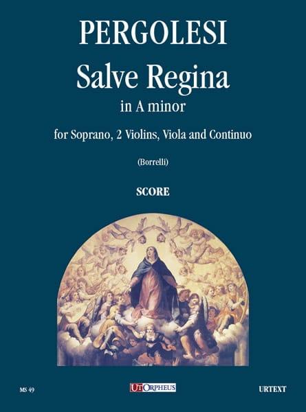 Giovanni Battista Pergolese - Salve Regina en la menor. conductor - Partition - di-arezzo.es