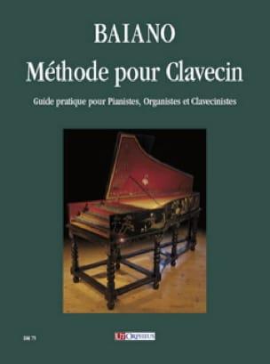 Méthode pour Clavecin - Enrico Baiano - Partition - laflutedepan.com
