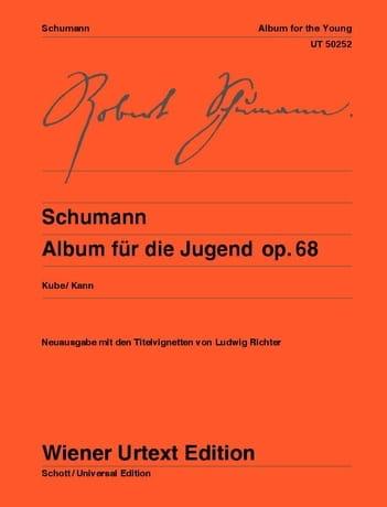 Album à la jeunesse, Opus 68 - SCHUMANN - Partition - laflutedepan.com
