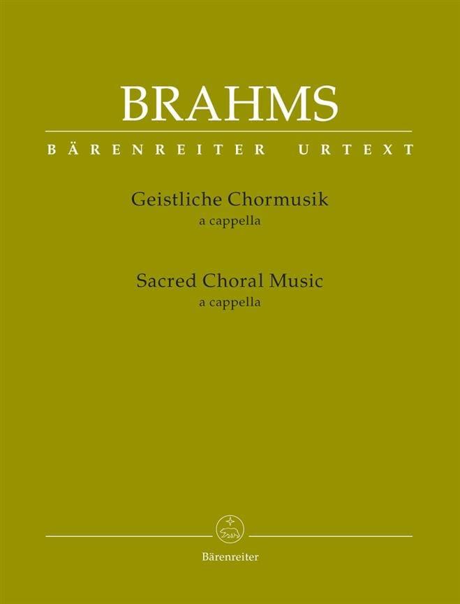 Geistliche Chormusik a cappella - BRAHMS - laflutedepan.com