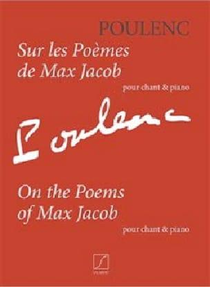 Sur les poèmes de Max Jacob - POULENC - Partition - laflutedepan.com