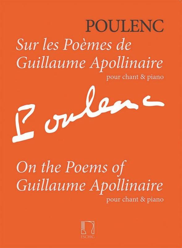 Sur les poèmes de Guillaume Apollinaire - POULENC - laflutedepan.com