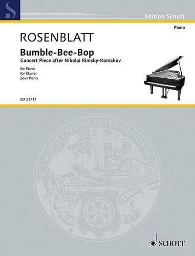Bumble-Bee-Bop - Alexander Rosenblatt - Partition - laflutedepan.com