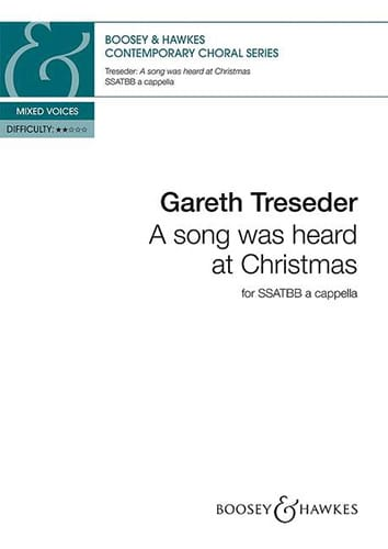 A song was heard at Christmas - Gareth Treseder - laflutedepan.com