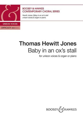 Baby in an ox's stall. - Jones Thomas Hewitt - laflutedepan.com